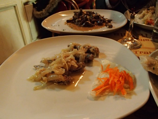 Here is the sarde en saor and the Venetian liver
